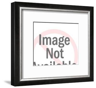 Man Driving Small Train-Pop Ink - CSA Images-Framed Art Print