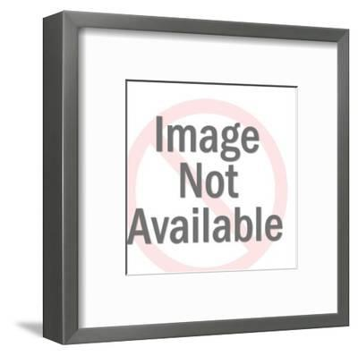 Heavy Woman-Pop Ink - CSA Images-Framed Art Print