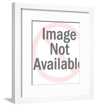 Spaceman Wearing Helmet-Pop Ink - CSA Images-Framed Art Print