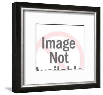 Hand Pointing With Exposed Bone-Pop Ink - CSA Images-Framed Art Print