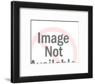 Cannon Firing Stars-Pop Ink - CSA Images-Framed Art Print