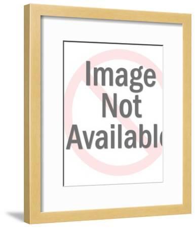 Gopher Wearing Sweater-Pop Ink - CSA Images-Framed Art Print