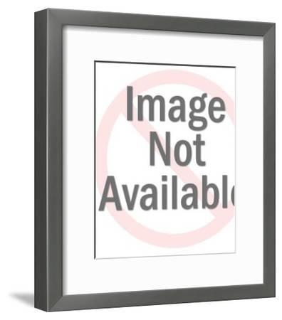 Rabbit Head-Pop Ink - CSA Images-Framed Art Print