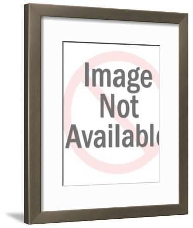 Saguaro Cactus-Pop Ink - CSA Images-Framed Art Print