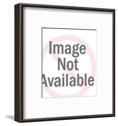 Portrait of a Woman-Pop Ink - CSA Images-Framed Art Print