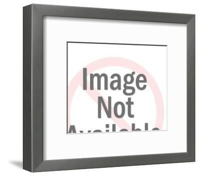 Rabbit Icon-Pop Ink - CSA Images-Framed Art Print