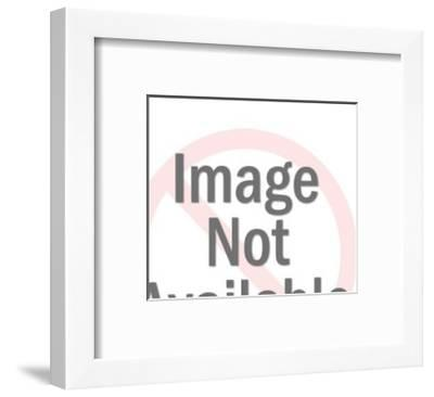 Gas Station Attendant-Pop Ink - CSA Images-Framed Art Print