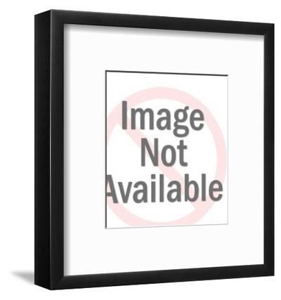 Diver and Two Skeletons-Pop Ink - CSA Images-Framed Art Print