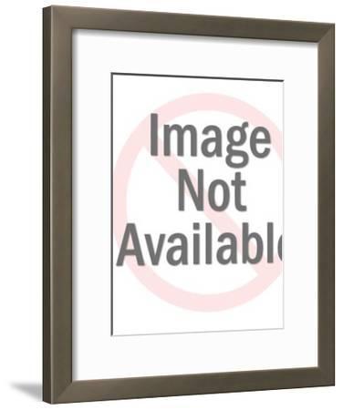 Line Square Pattern-Pop Ink - CSA Images-Framed Art Print
