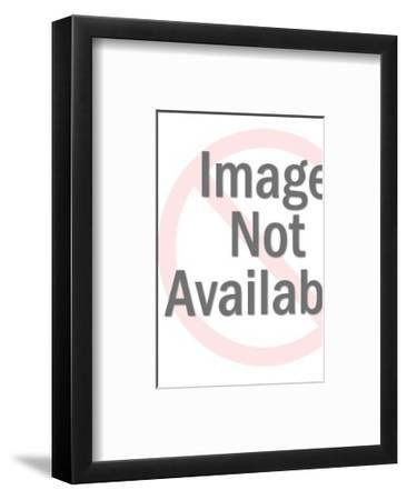 Grainy Pattern-Pop Ink - CSA Images-Framed Art Print