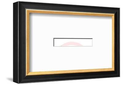 Man-Pop Ink - CSA Images-Framed Art Print
