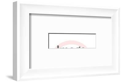 Cattle-Pop Ink - CSA Images-Framed Art Print