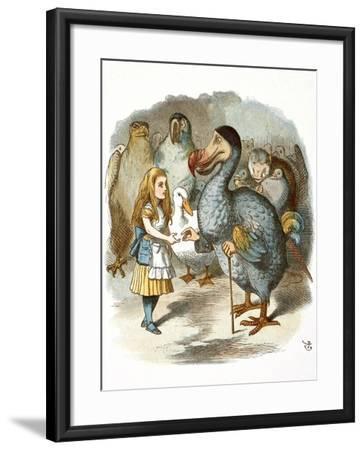 The Caucus-Race-John Teniel-Framed Giclee Print