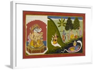 Ganesha Blessing This Endeavour--Framed Giclee Print