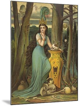 Young Woman in a Green Dress- Boyle-Mounted Giclee Print