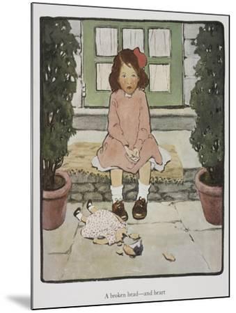 Everyday Fairy Book-Jessie Willcox-Smith-Mounted Giclee Print