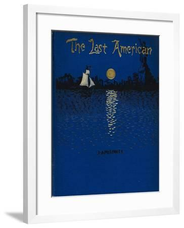 The Last American-John Ames Mitchell-Framed Giclee Print
