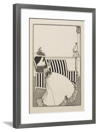 A Catalogue Cover-Aubrey Beardsley-Framed Giclee Print