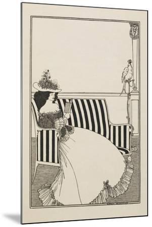 A Catalogue Cover-Aubrey Beardsley-Mounted Giclee Print