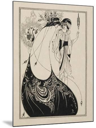 The Peacock Skirt. From Salome--Mounted Giclee Print