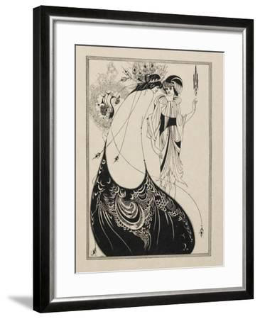 The Peacock Skirt. From Salome--Framed Giclee Print