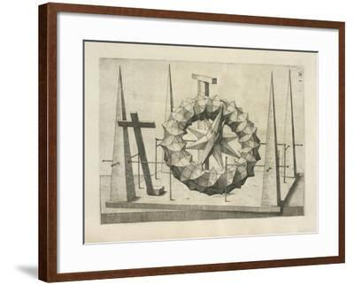 Illustration Of Sculpture-Wenzel Jamnitzer-Framed Giclee Print