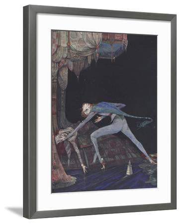 Macabre-Harry Clarke-Framed Giclee Print
