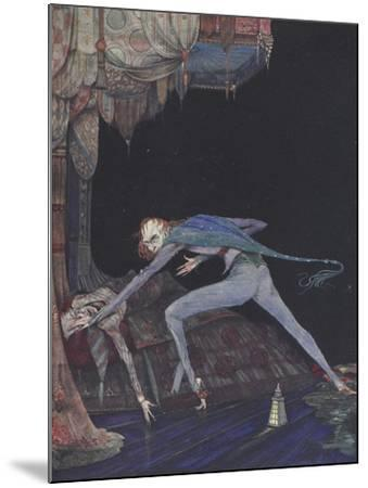 Macabre-Harry Clarke-Mounted Giclee Print