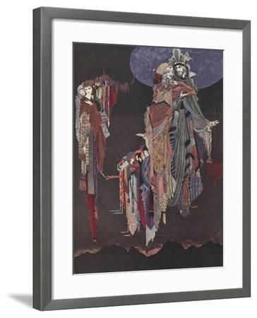 Monas and Una-Harry Clarke-Framed Giclee Print