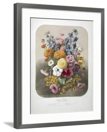 A Bouquet Of Flowers-Elisa Champin-Framed Giclee Print