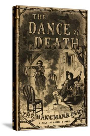 The Dance Of Death-Brownlow Tuevoleur-Stretched Canvas Print