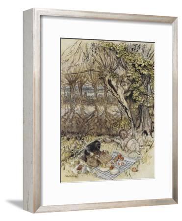 The Wind in the Willows-Arthur Rackham-Framed Giclee Print