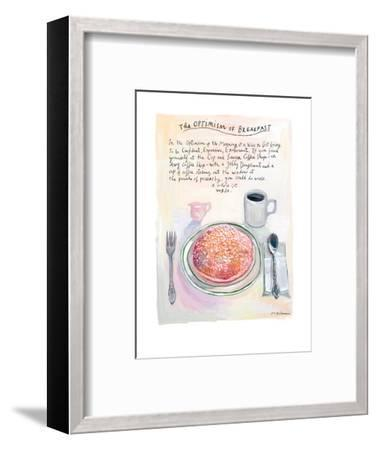 The New Yorker - July 22, 2013-Maira Kalman-Framed Premium Giclee Print