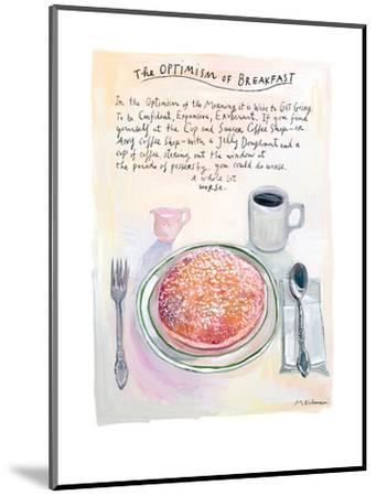 The New Yorker - July 22, 2013-Maira Kalman-Mounted Premium Giclee Print