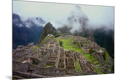 Machu Picchu Peru Photo Poster--Mounted Photo