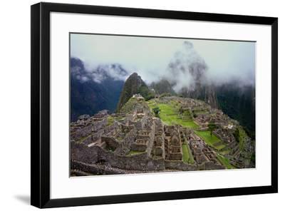 Machu Picchu Peru Photo Poster--Framed Photo