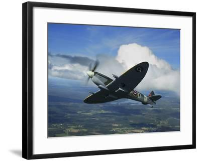 Supermarine Spitfire Mk.XVI Fighter Warbird of the Royal Air Force-Stocktrek Images-Framed Photographic Print