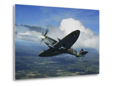 Supermarine Spitfire Mk.XVI Fighter Warbird of the Royal Air Force-Stocktrek Images-Metal Print