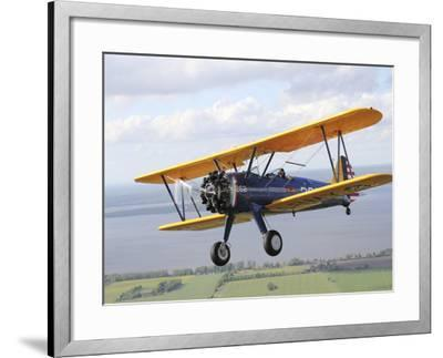 Boeing Stearman Model 75 Kaydet in U S  Army Colors Photographic Print by  Stocktrek Images | Art com