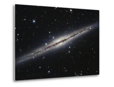 NGC 891, An Edge-on Spiral Galaxy in Andromeda-Stocktrek Images-Metal Print