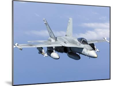 A CF-188A Hornet of the Royal Canadian Air Force-Stocktrek Images-Mounted Photographic Print
