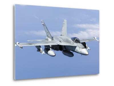 A CF-188A Hornet of the Royal Canadian Air Force-Stocktrek Images-Metal Print