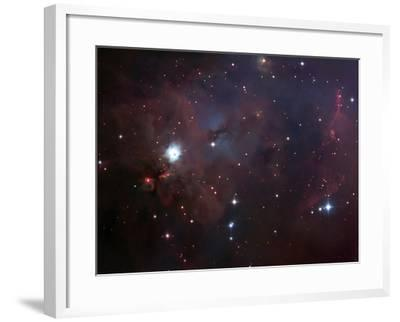 NGC 1999 Is a Dust Filled Bright Nebula-Stocktrek Images-Framed Photographic Print