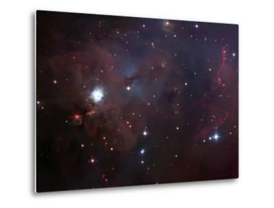 NGC 1999 Is a Dust Filled Bright Nebula-Stocktrek Images-Metal Print