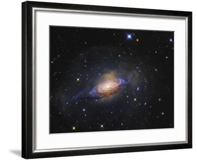 Spiral Galaxy NGC 3521 in the Constellation Leo-Stocktrek Images-Framed Photographic Print