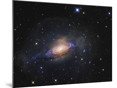 Spiral Galaxy NGC 3521 in the Constellation Leo-Stocktrek Images-Mounted Photographic Print