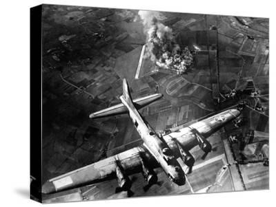 The First Big Raid by the 8th Air Force On a Focke Wulf Plant at Marienburg-Stocktrek Images-Stretched Canvas Print