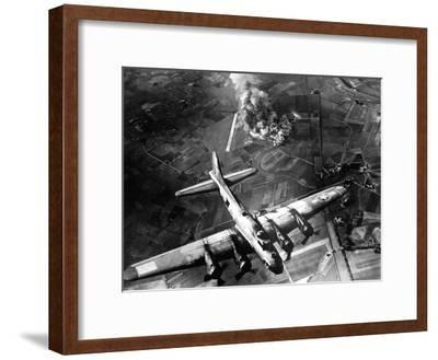 The First Big Raid by the 8th Air Force On a Focke Wulf Plant at Marienburg-Stocktrek Images-Framed Photographic Print