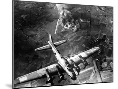 The First Big Raid by the 8th Air Force On a Focke Wulf Plant at Marienburg-Stocktrek Images-Mounted Photographic Print