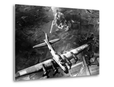 The First Big Raid by the 8th Air Force On a Focke Wulf Plant at Marienburg-Stocktrek Images-Metal Print